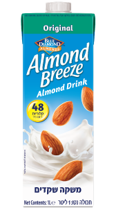 משקה שקדים Almond Breeze
